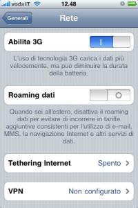 Come disattivare il Roaming su iPhone