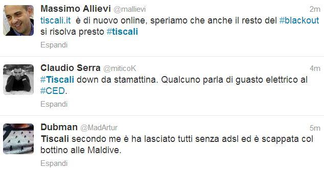 Tiscali Down