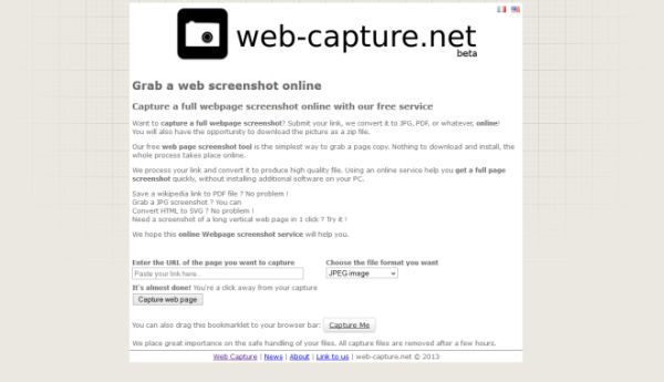 come fare lo screenshot di una pagina web