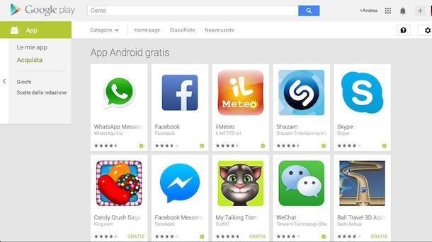 migliori APP indispensabili gratuite Android