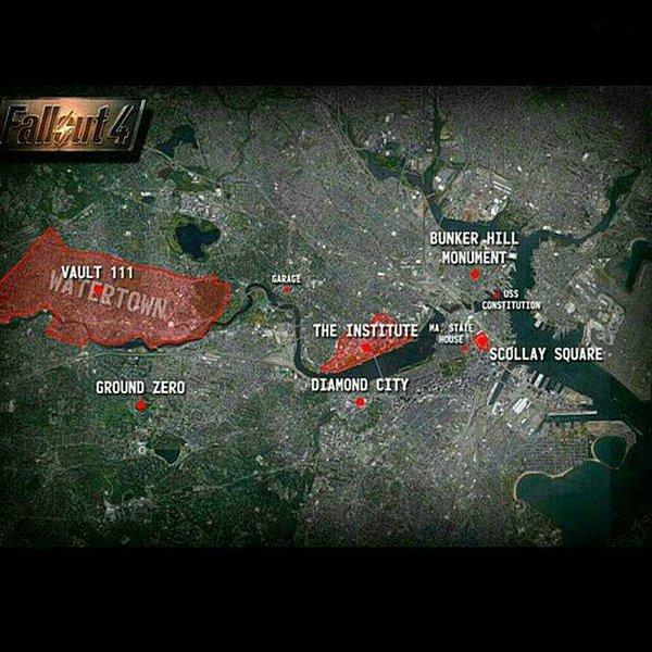 fallout 4 mappa